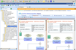 ProcessGene GRC Software Suite screenshot: Inter-Subsidiary Comparison