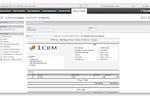 1CRM screenshot: 1CRM PDF Form Designer