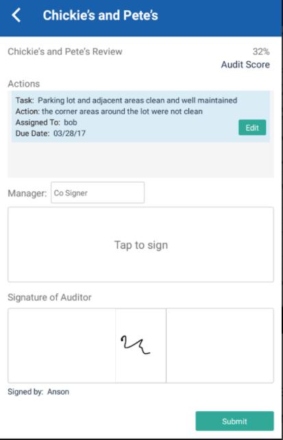 MeazureUp audit score