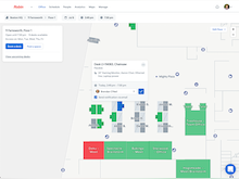 Robin Software - Find a desk or meeting room to reserve from the web