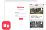 Nudge Coach screenshot: White label the platform and launch your own customized apps for iOS and Android to power your programs.