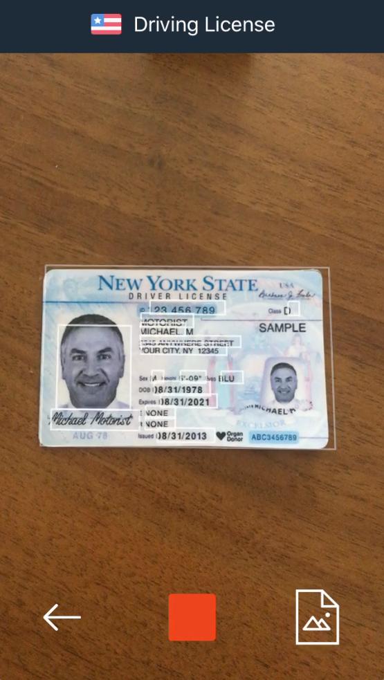 Smart ID Engine Software - Smart ID Engine data capture