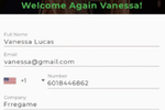 GreetLog screenshot: GreetLog visitor registration
