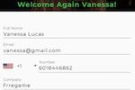 GreetLog Screenshot: GreetLog visitor registration
