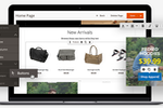 Magento Commerce screenshot: Magento Commerce page builder mock-up