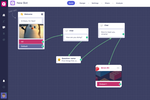 Capture d'écran pour Landbot : Create conversational websites and lead generation chatbots to engage with customers