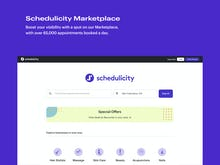 Schedulicity Software - Schedulicity Marketplace: Boost your visibility with a spot on our Marketplace, with over 65,000 appointments booked a day.