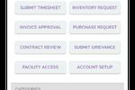 Groupe.io screenshot: Business Process Management