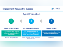 Lityx Software - Our team of data scientists will help you get started and be there to keep you going