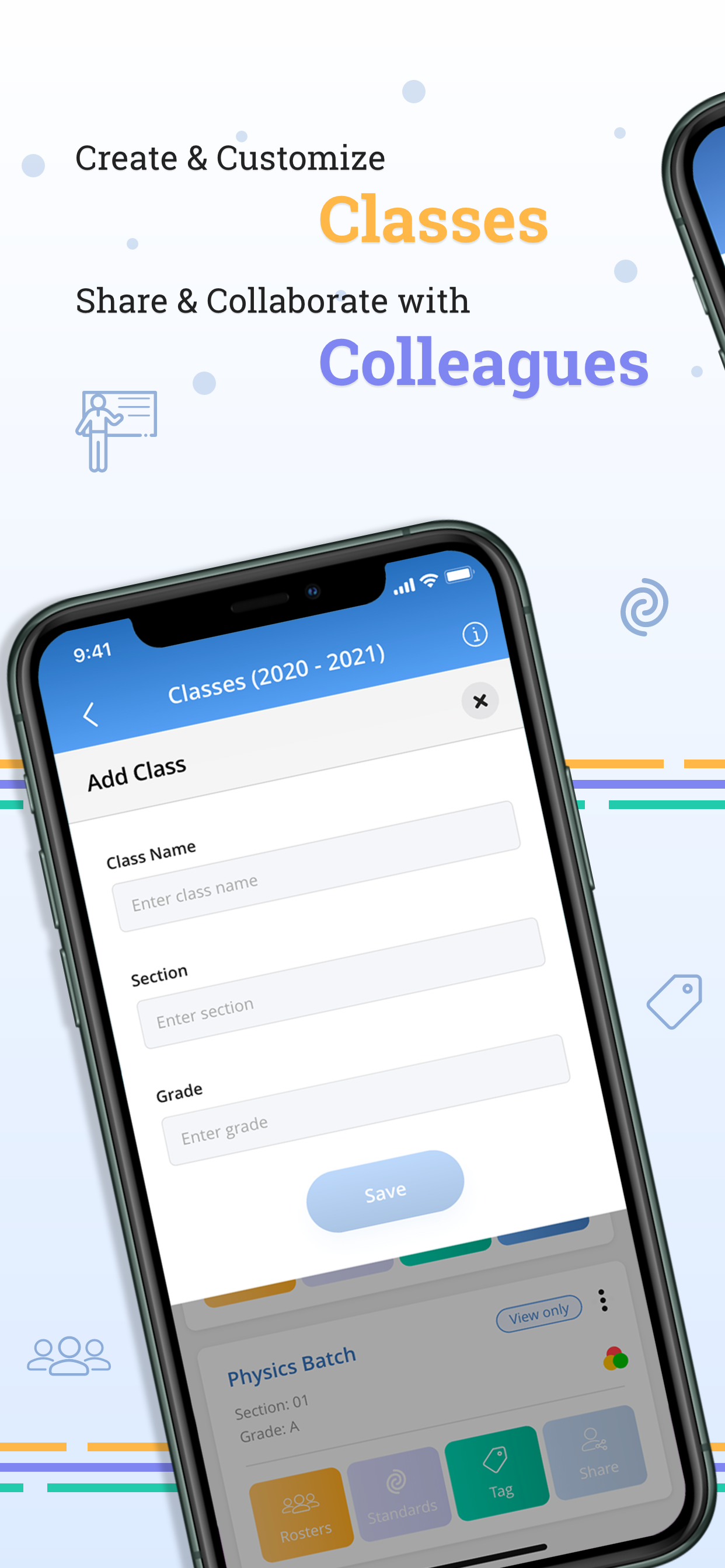 Manage Classroom, Roster and Collaborate with simplicity