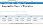Capture d'écran pour Jackrabbit Care : With Jackrabbit, administrator can set business hours of operations