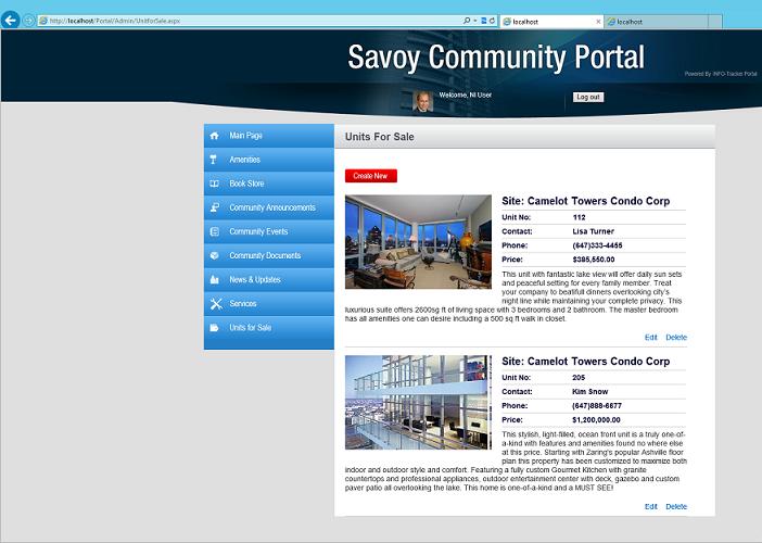 INFO-Tracker Software - Community portal