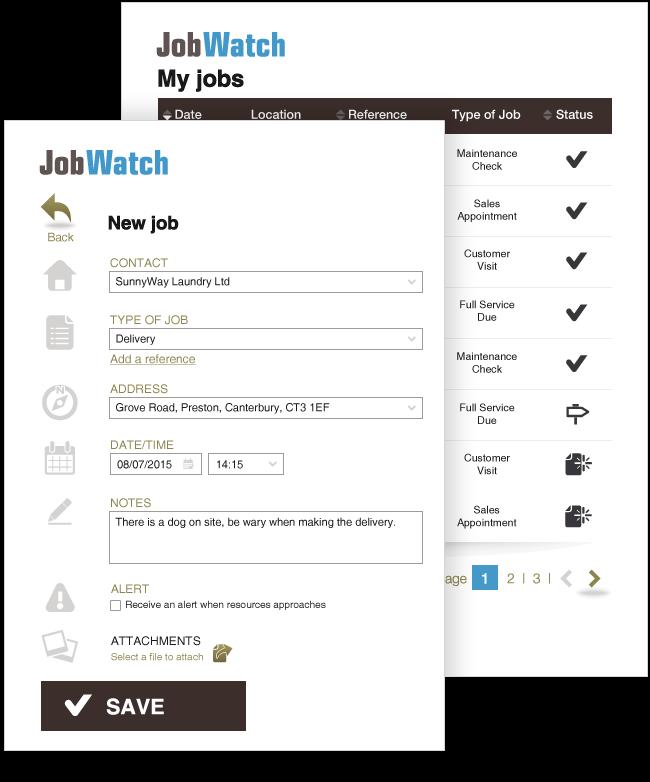 BigChange Software - Create new job