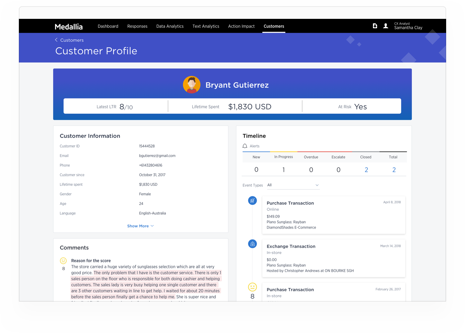 Medallia Experience Cloud Software - 3