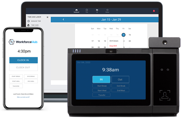 Manage time from multiple devices