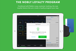 Nobly screenshot: Reward loyal customers with the Nobly rewards scheme feature