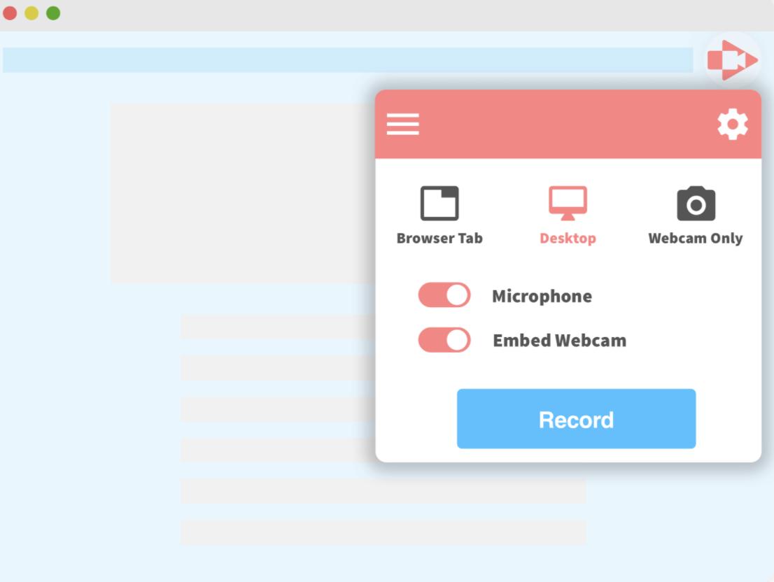 Screencastify record desktop