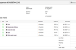 Captura de pantalla de Craftybase: Craftybase expense report