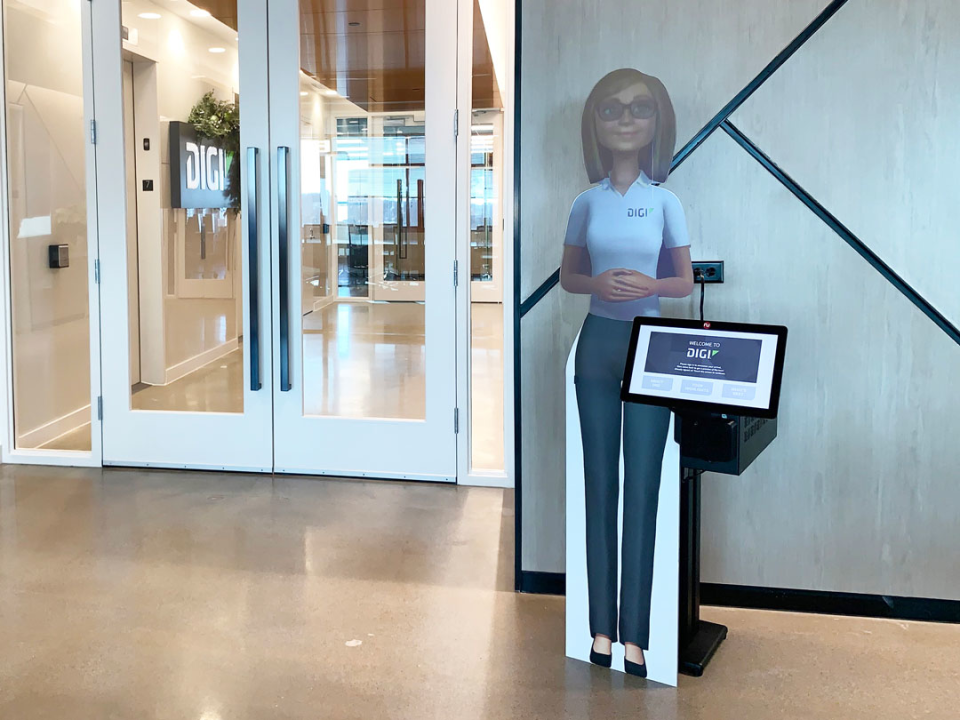 Corporate Visitor Management System