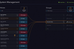 Captura de tela do Automox: Automox system management page
