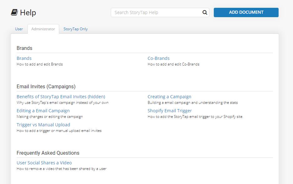 StoryTap Software - StoryTap help center