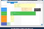 TopBuilder screenshot: TopBuilder jobs calendar