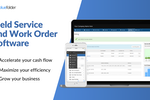 Captura de tela do BlueFolder: Field Service and Work Order Software to accelerate your cash flow, maximize your efficiency, and grow your business.