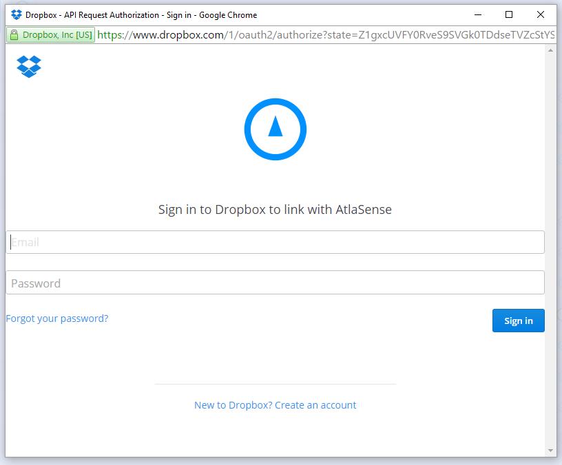 Onna Software - Dropbox integration