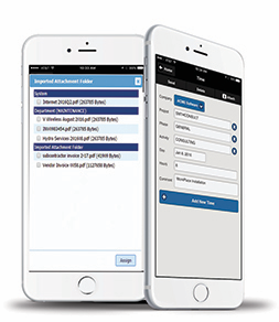 Web-based and mobile requisition and procurement