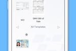 Capture d'écran pour CaptureFast : Access & utilize pre-defined templates