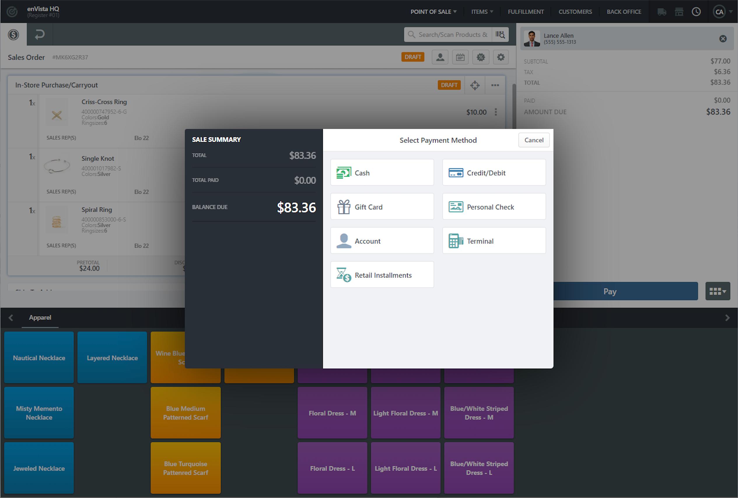 Unified Commerce Platform Software - 1