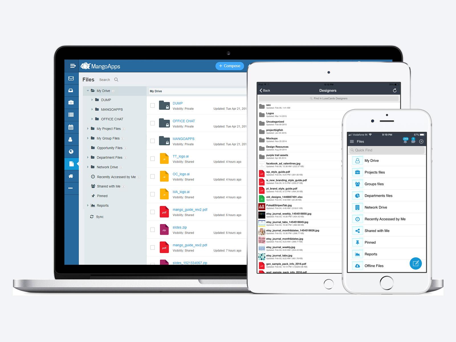 MangoApps knowledge management