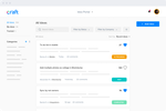 Craft.io screenshot: Idea Portal (feedback management)