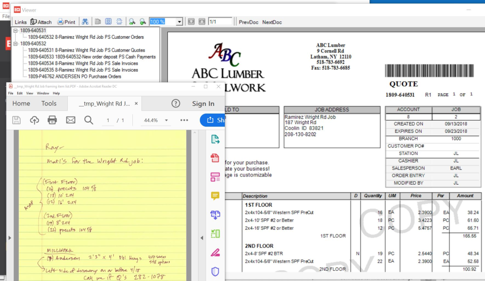 Spruce screenshot: Spruce Document Management