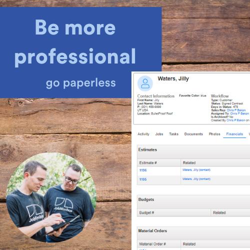 JobNimbus Software - Get organized, efficient