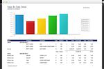 Capture d'écran pour Envision Ink : Envision Ink sales report