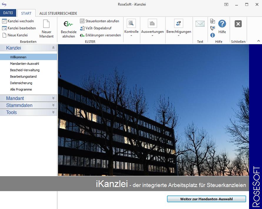 iKanzlei homepage