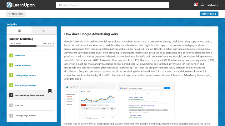 Built in SEO and Google Analytics integration