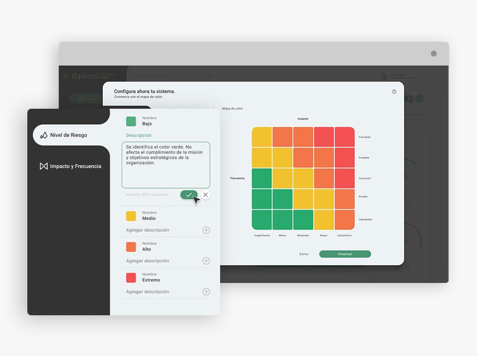Pirani Riskment Suite Software - 3