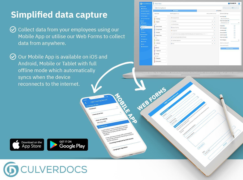 Simplified data capture