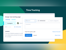 Wrike Software - Time tracking