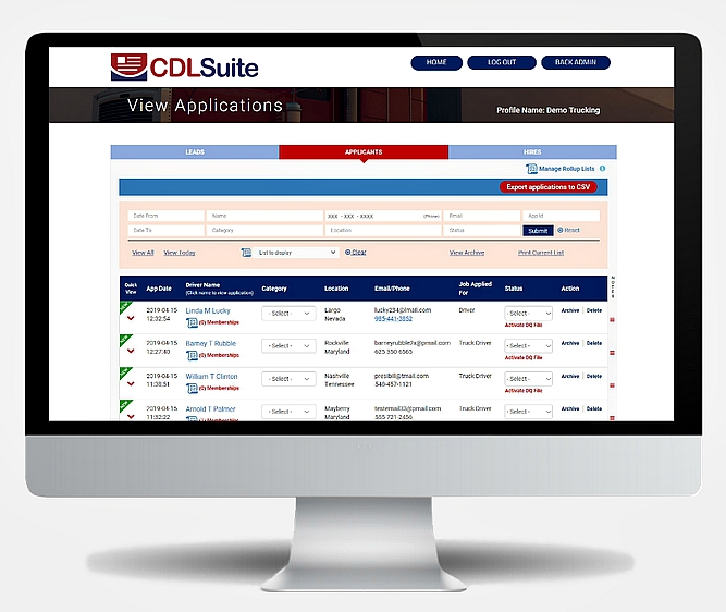 CDLSuite Software - 3