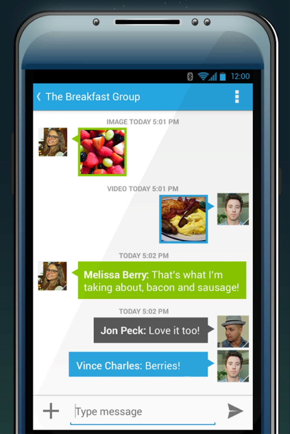 Cloud Phone Software - Android group chat