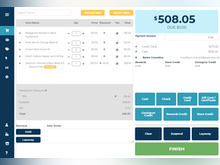 Ricochet Software - Elegant POS helps you find items, suspended sales, and layaway with ease.