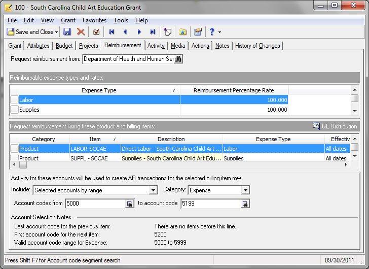 Blackbaud Raiser's Edge NXT Software - Reimbursement billing