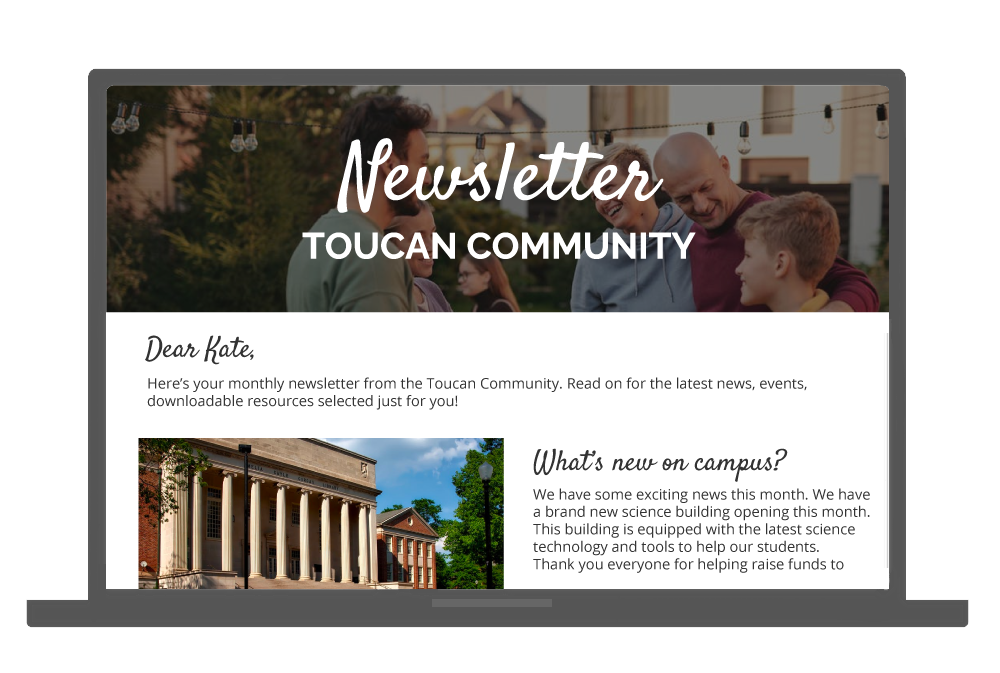 ToucanTech Software - Send engaging emails