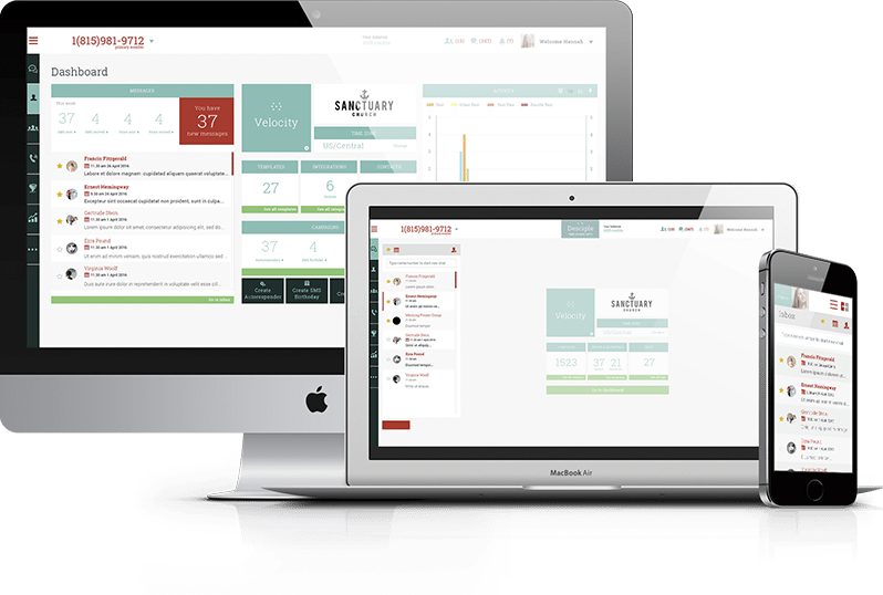 Access opt-in rates, click-through data, and more from the PastorsLine dashboard
