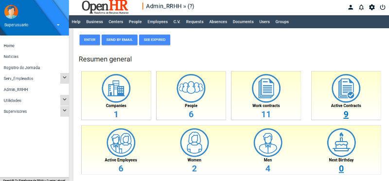 OpenHR resume