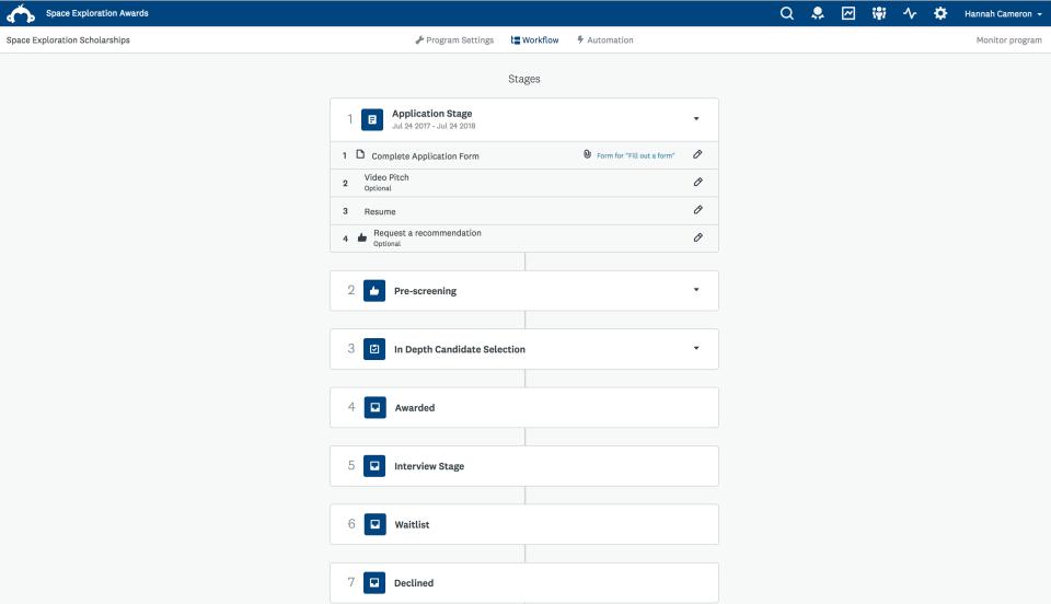 SurveyMonkey Apply Software - 4