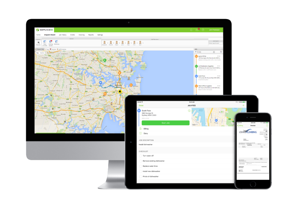 ServiceM8 Software - Work from anywhere
